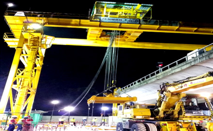 40 ton Gantry cranes