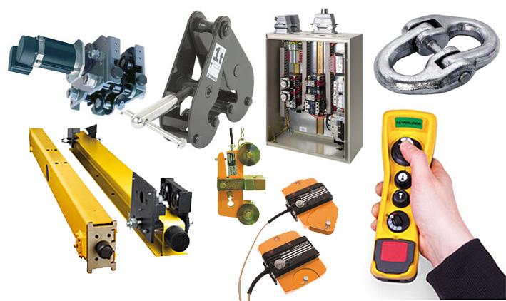 , Services – Spare Parts for Multiple Crane Brands